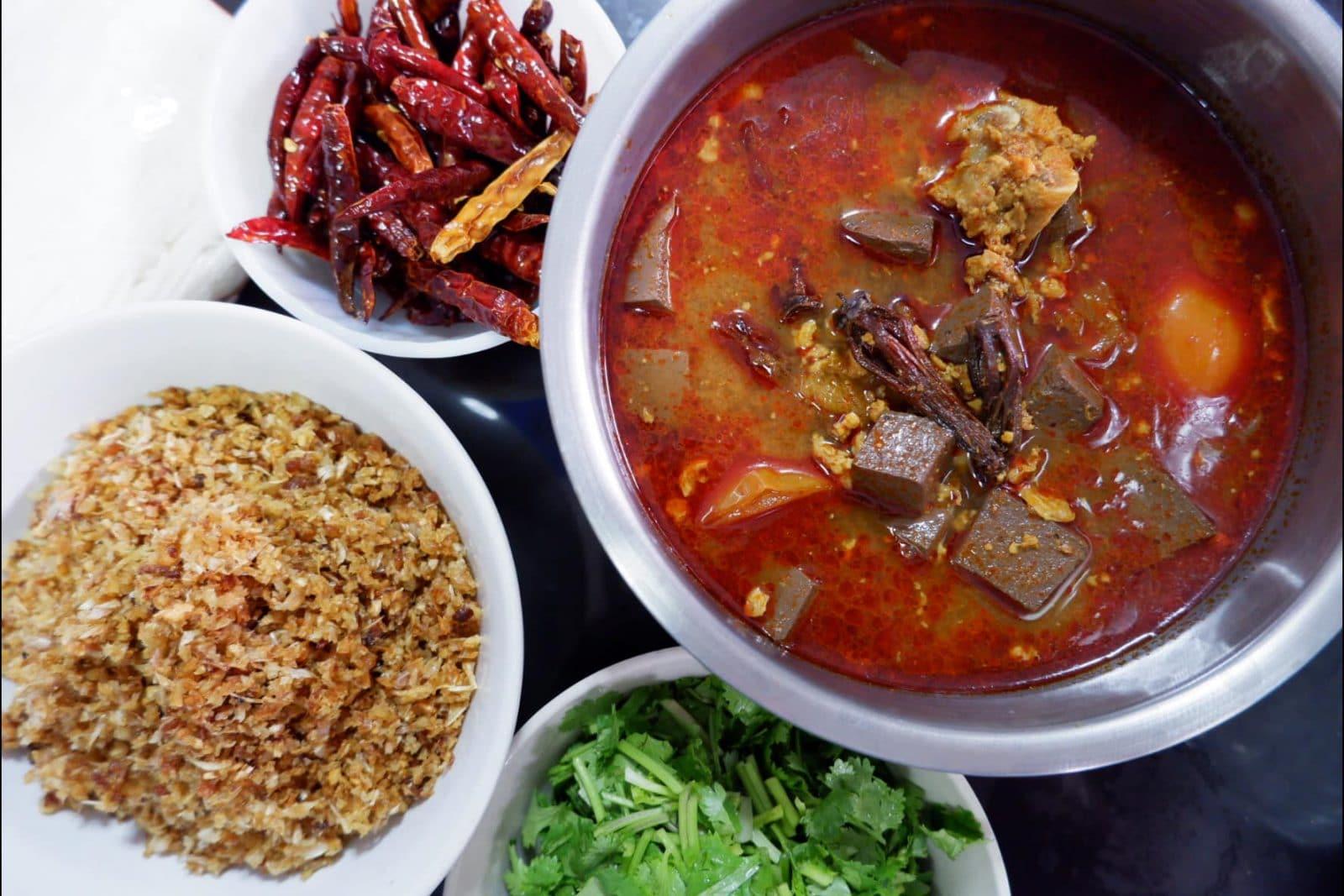 สูตรและวิธีทำขนมจีนน้ำเงี้ยว สูตรแม่มณี