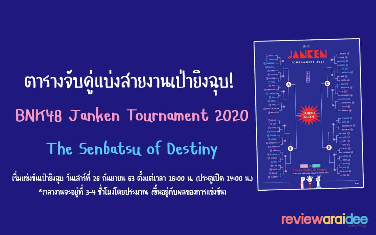 BNK48 JANKEN Tournament 2020 The Senbatsu of Destiny